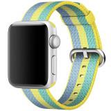 Cumpara ieftin Curea pentru Apple Watch 40 mm iUni Woven Strap, Nylon, Pollen
