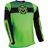 Tricou motocross Moose Racing Qualifier culoare Negru/Verde marime M Cod Produs: MX_NEW 29106246PE