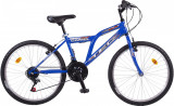"Bicicleta MTB TEC Camel ,Culoare albastru , Roata 24"" OtelPB Cod:202426000007"