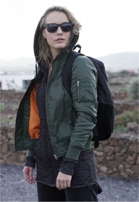 Geaca bomber primavara femei foto
