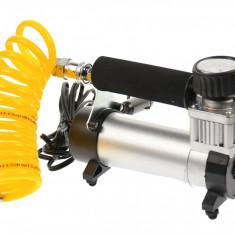 Compresor auto 12V, pentru SUV-uri, masini, biciclete, motociclete si accesorii gonflabile - 70100
