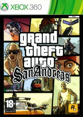 Grand Theft Auto San Andreas XB360 foto