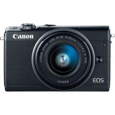 Aparat foto Mirrorless Canon EOS M100, 24.2 MP + Obiectiv 15-45 mm NOU 1550 Lei