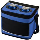 Geanta termoizolanta 12 doze, curele captusite si ajustabile, Everestus, PK, 600D poliester, albastru, negru