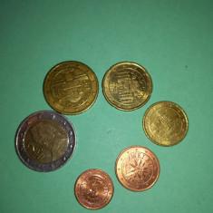 Monede euro ; Austyria 2002