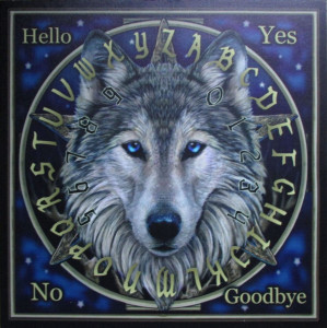 Placă Ouija Wild One+cadou un set de rune