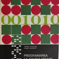 Stelian Niculescu - Programarea la calculatoare electronice, 1973