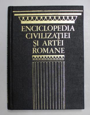 ENCICLOPEDIA CIVILIZATIEI SI ARTEI ROMANE-JEAN-CLAUDE FREDOIILLE,BUC.1974 foto