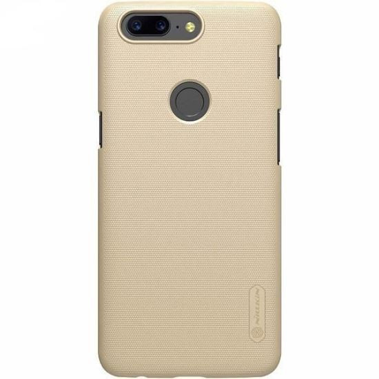 Husa OnePlus 5T Folie ProtectieNillkin Frosted Shield Aurie