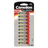 Pachet de 10x Camelion Plus LR6 / AA / R6 / MN 1500 baterii de 1.5V alcaline Conținutul pachetului 1x Blister