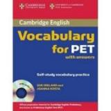Cambridge Vocabulary for PET Student Book with Answers - contine CD audio - Sue Ireland, Joanna Kosta