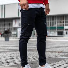Pantaloni training cargo bărbați bleumarin Bolf 1003