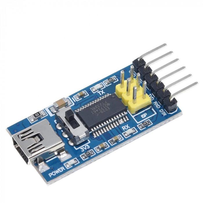 Modul FT232RL FTDI USB to TTL serial 3.3V sau 5.5V Arduino (f.364)