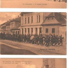 SV * Brasov  LOT 9 Carti Postale * Masacrul de la Gara Bartolomeu     WWI   1916