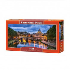 Puzzle 600 Pcs panorama - Castorland