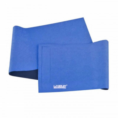 Centura reglabila pentru abdomen, albastra foto