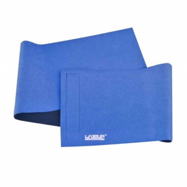Centura reglabila pentru abdomen, albastra