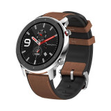 Smartwatch Amazfit GTR 47MM Display 1.39 inch AMOLED Stainless Steel, Xiaomi