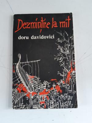 Dezmintire la mit - Doru Davidovici foto