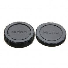 Set Capac body + Capac spate obiective Micro M4/3 m43 Olympus Panasonic...