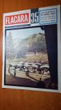 flacara 28 august 1965-parada de 23 august,art. si foto orasul motru si sulina
