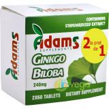Ginkgo Biloba 240mg 60tb Pachet 1+1 CADOU