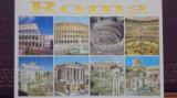 ITALIA - ROMA - 8 FOTOGRAFII CU CLADIRI MONUMENT DI ORAS 6  - NECIRCULATA.