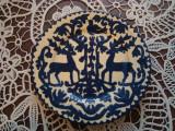 Farfurie lut Turda inceputul anilor 1900 , fratii TOMPA