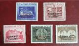 Timbre 1941 Fundaţia Carol I supratipar Cernăuţi