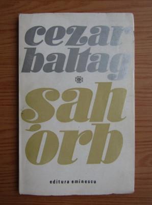 Cezar Baltag - Sah orb foto