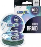 Fir textil Kamasaki Super Braid 100m (Diametru fir: 0.45 mm)