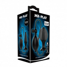 Dop anal gonflabil Mr. Play Inflatable Anal Plug