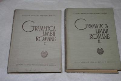 Gramatica limbii romane - 2 vol. - Al. Graur - 1966 foto