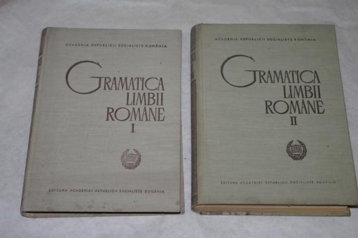 Gramatica limbii romane - 2 vol. - Al. Graur - 1966