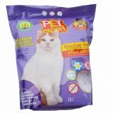 Cumpara ieftin Nisip litiera pisici, Pet Expert, Silicat Lavanda, 7.6 L