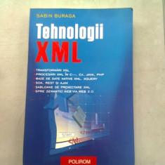 TEHNOLOGII XML - SABIN BURAGA, Polirom