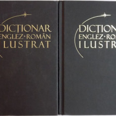 DICTIONAR ENGLEZ-ROMAN ILUSTRAT 2 volume
