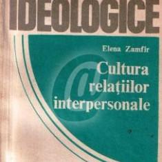 Cultura relatiilor interpersonale