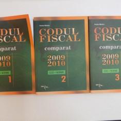 CODUL FISCAL COMPARAT 2009-2010 , VOL. I - III , COD + NORME de NICOLAE MANDOIU , 2010