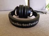 Casca profesional AUDIO-TECHNICS ATH-M40x, Casti Over Ear, Cu fir, Mufa 3,5mm, Audio Technica