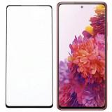 Cumpara ieftin Folie Sticla Full Cover Premium pentru Samsung Galaxy S20 FE, 5D, Full Glue, Negru, Global Technologies