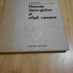 ION DONOIU--MONEDE DACO-GETICE SI EFIGII ROMANE - 1980