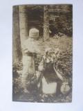 Cumpara ieftin Rara! Carte postala Prințul Carol și Prințesa Elisaveta,scrisă cca.1910, Circulata, Printata, Romania 1900 - 1950