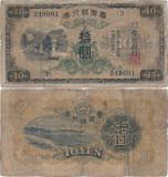 1932 , 10 yen ( P-1927a ) - Taiwan