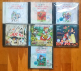 Set 7 CD Cu Povesti & Povestiri (Harap Alb, Punguta Cu Doi Bani, Scufita Rosie), roton