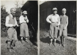 2 fotografii sasi din Sebes Alba Transilvania 1931