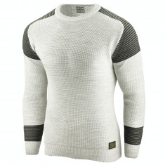 Bluza pentru barbati verde deschis flex fit casual alaska fashion