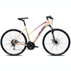 Bicicleta Oras Devron Cross LK2.8, Cadru 19inch (Crem)