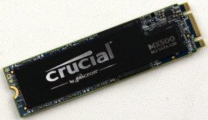 SSD M.2 500GB Crucial SATA-3, 6Gb/s, 100% LIFE