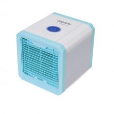 Mini Aparat de Aer Conditionat Portabil Camry 3-in-1, Racitor Aer, Umidificare, Purificare, Iluminare LED RGB, Putere 50W, Mobil